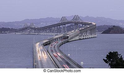 Dusk Over The Richmond-San Rafael Bridge