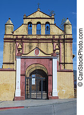 Church of San Nicolas in San Cristobal de las Casas -...