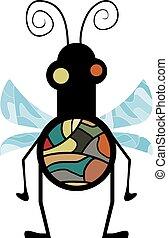 imaginative insect draw - Creative design of imaginative...