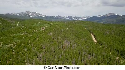 Indian Peaks Wilderness Colorado Landscape - Indian Peaks...