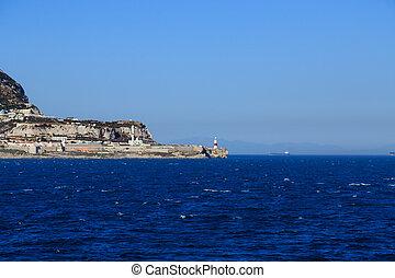 Gibraltar Lighthouse - Lighthouse on Point of Gibraltar