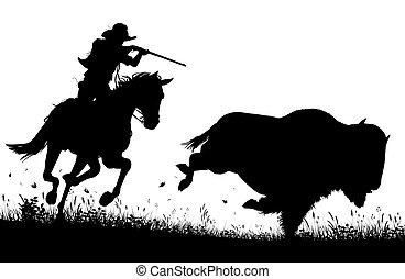 Last bison