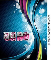 Happy New Year 2012 design - Vector Happy New Year 2012...