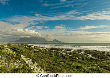 Cape Town (view from Bloubergstrand) - Cape Town (South...