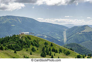 Cableway at resort Donovaly, Slovakia - Cableway at resort...