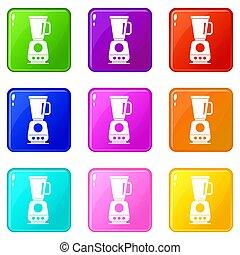 Blender icons 9 set