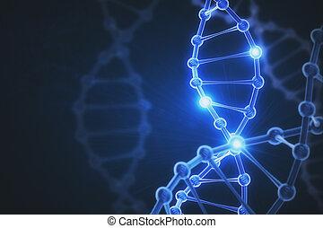 Digital DNA background