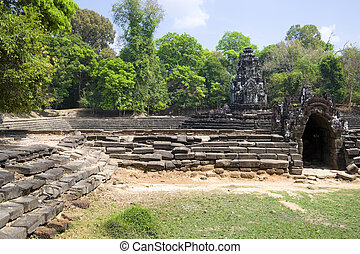 Preah Neak Poan Temple, Cambodia - Image of UNESCOs World...