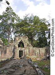 Preah Khan, Cambodia - Image of UNESCOs World Heritage Site...