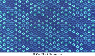 Computer graphics of abstract loopable background, flashing...