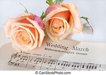 Wedding March - Sheet music of the Wedding March