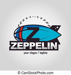 Zeppelin logo - Emblem for Business, Logo sport, Modern logo