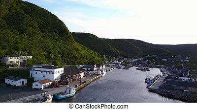 Beautiful Petty Harbour during summer, Newfoundland, Canada...