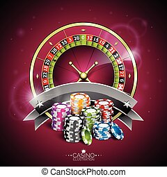 Graphic_152_15 - Vector illustration on a casino theme with...