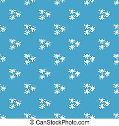 Paintball blob pattern seamless blue - Paintball blob...