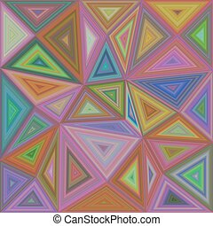 Colorful triangle mosaic background design