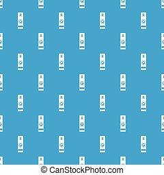 Mosquito spray pattern seamless blue - Mosquito spray...