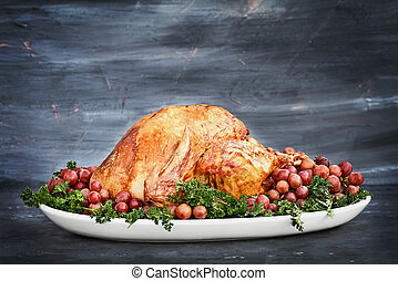 Delicious Roasted Thanksgiving Turkey