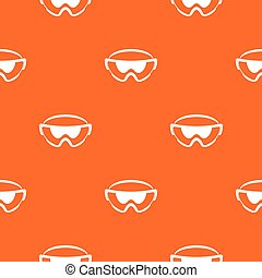 Safety glasses pattern seamless - Safety glasses pattern...