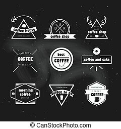 Coffee to go. Vector illustration.Grunge texture background