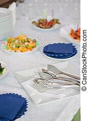 catering service equipment - metal tongs