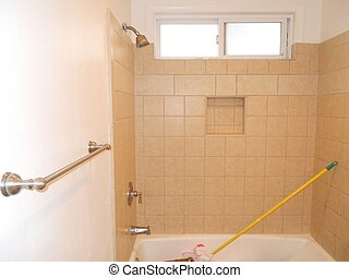 bathroom remodel paint finished - finished painting and...