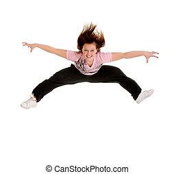 Jumping for Joy Dancer