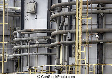 oil industry new 6 - close up of industrial pipes of oil...