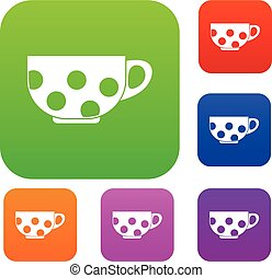 Cup set collection