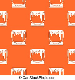 Paint can pattern seamless - Paint can pattern repeat...
