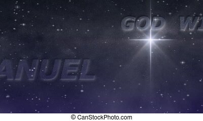 Starry Night - Emmanuel Loop HD - Names prophesied by Isaiah...