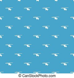 Helicopter pattern seamless blue - Helicopter pattern repeat...