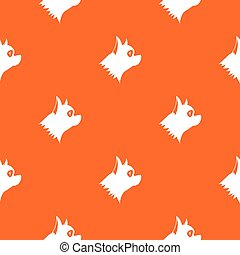 Pinscher dog pattern seamless - Pinscher dog pattern repeat...