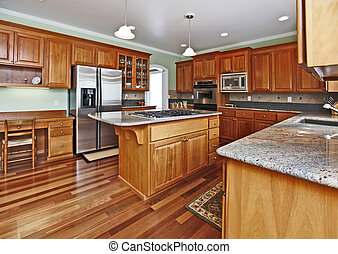 Large top quality kitchen
