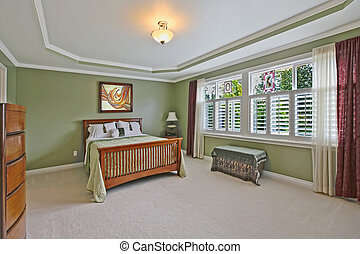 Master bedroom - Large master bedroom. Nice home near...