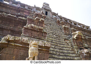 Phimeanakas Temple, Cambodia - Image of UNESCOs World...