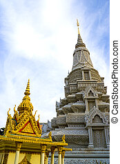 camboyano, real, palacio, edificios