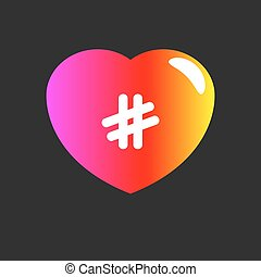 Chat dating online - Logo of blog, chat dating online. Icon...