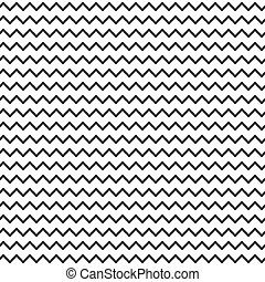 Black and white seamless zigzag line pattern