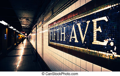 Fifth Avenue Subway Station - Fifth Avenue subway station...