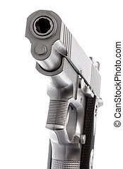 Toy Gun Isolated - Isolated image of a toy gun