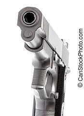 juguete, arma de fuego, aislado