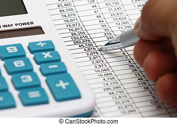 Studying Financial Numbers