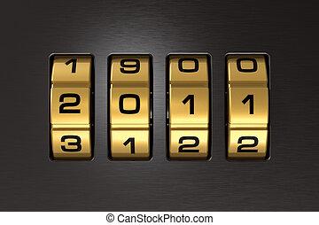 New Year 2011 code lock