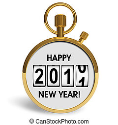 New Year 2011 congratulation