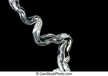 Abstract: Cascading Flow Across the Blackness