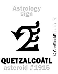 Astrology: asteroid QUETZALCOATL - Astrology Alphabet:...