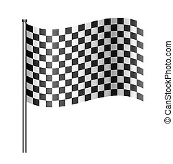 checered sport flag