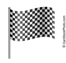 checered sport flag