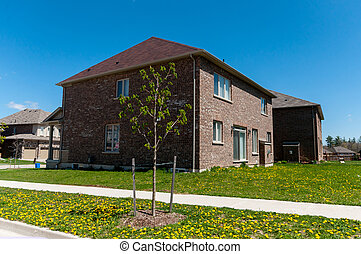 New private houses in Kitchener